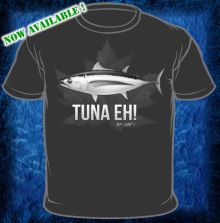 Tuna Eh Black T-Shirt