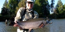 Stamp River Coho on the Fly or Gear