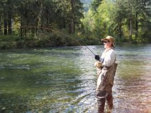 Steelhead Fishing From shore - 4x4 Access