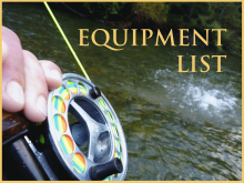 Salmon and Steelhead Equipment List