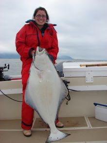 Another nice Halibut from offshore