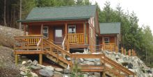 Ucluelet Cabins Exterior