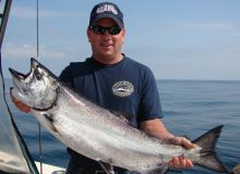 Ucluelet - Nice Salmon Catch