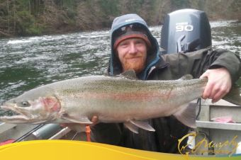 "37"" Wild Stamp River Steelhead (released)"