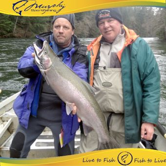 Big Winter Steelhead Jan 2015