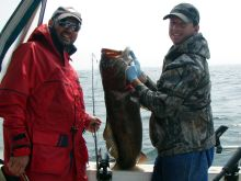 Fishing for Big Lings in Kyuquot Sound