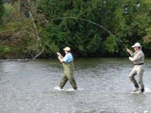 Double Header of Coho Salmon!