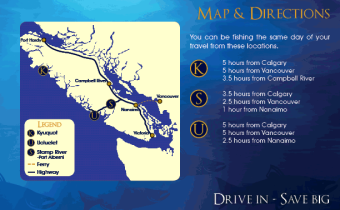 Three Locations Map