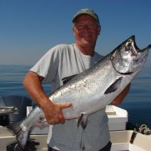 Kyuquot Sound Salmon Fishing Offshore