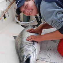 Kyuquot Sound welcomes anglers of all ages!