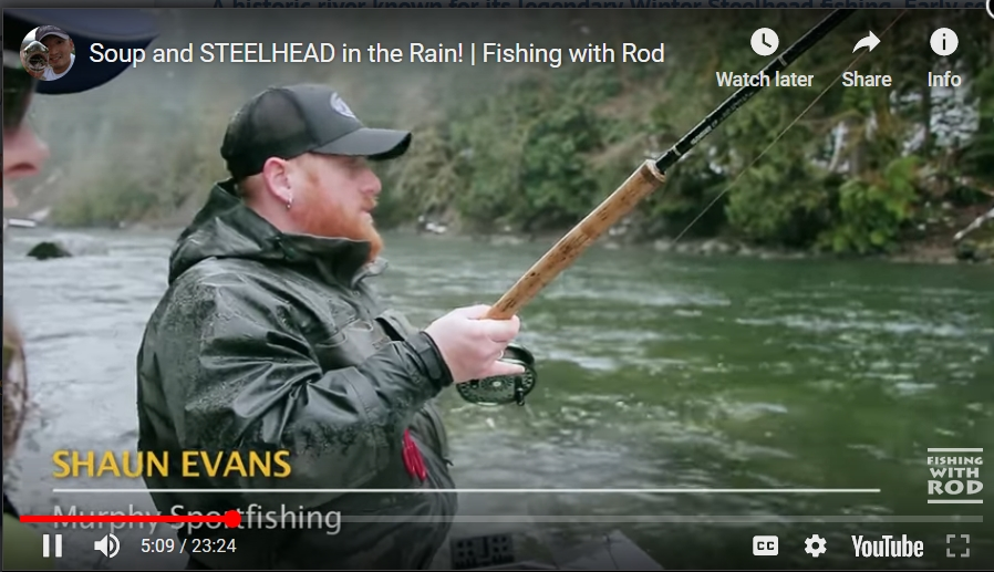 Fishing With Rod - Host Kitty / Guide Shaun